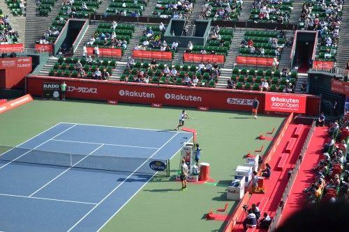 楽天・ジャパン・オープン・テニス ATPサンデ