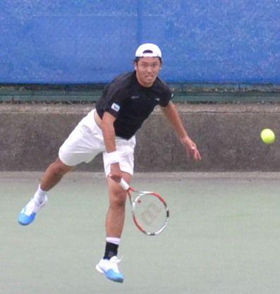 伊藤竜馬 慶應チャレンジャー国際テニストーナメント
