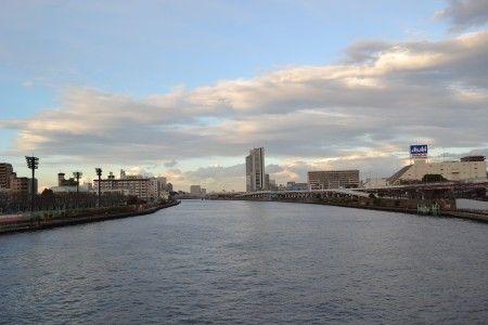 隅田川 桜橋から