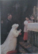 ピカソの「初めての聖体拝領」