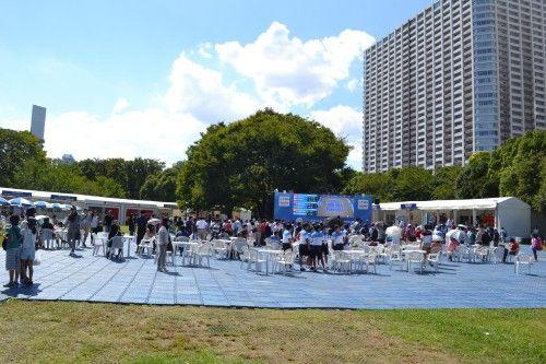 東レ パン・パシフィックオープン・テニス 広場