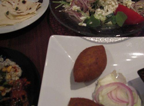目黒のイスラエル料理のレストラン ピンクカミラの料理