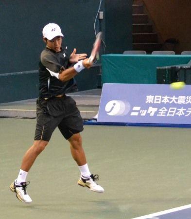 守屋宏紀 ニッケ全日本テニス選手権準決勝