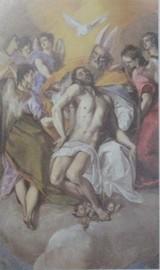 エル・グレコの「聖三位一体」