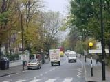 ロンドン アビーロードの横断歩道