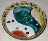 趣味の陶芸。九谷の絵付け作品の画像