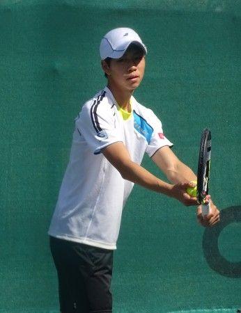 三菱電機・早稲田大学フューチャーズ国際テニストーナメント 越智真