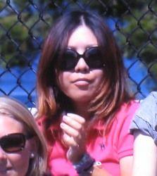 全米オープンテニス シングルス2回戦 錦織圭が勝利 宮里美香が応援