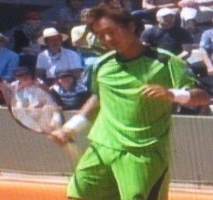 添田豪 全仏オープンテニス