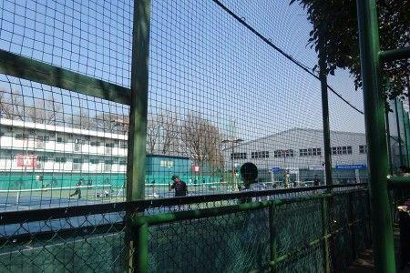 三菱電機・早稲田大学フューチャーズ国際テニストーナメント テニスコート