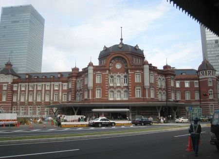 復元した東京駅丸の内駅舎