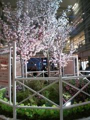 相模大野 桜の飾り