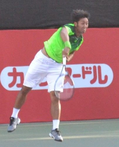 楽天・ジャパン・オープン・テニス 内山靖崇