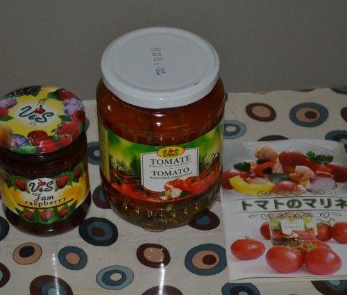 モルドバ物産店 アルビーナ・アンジェラのジャムとトマトのマリネ