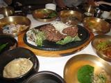 レストラン古家の料理カルビのミンチ