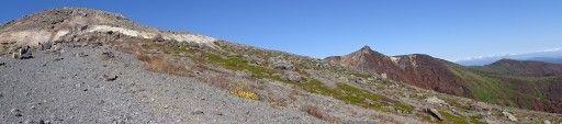 那須塩原 ロープウェイで茶臼岳9合目へ。紅葉が綺麗でした