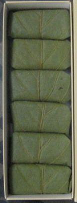 奈良のお土産 柿の葉寿司