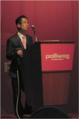 polliwog CEO Mr.SunHue HUH