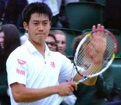 ウィンブルドン テニス シングルス2回戦 錦織圭が勝利