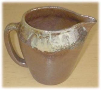 趣味の陶芸作品 ピッチャー