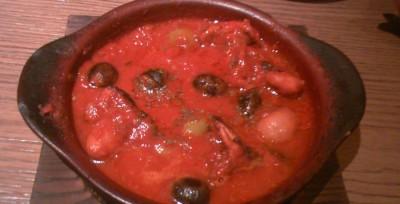 サルバトーレ クオモ イイダコのトマト煮