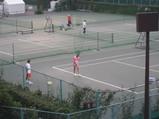 東レ パン・パシフィック・オープン・テニス練習
