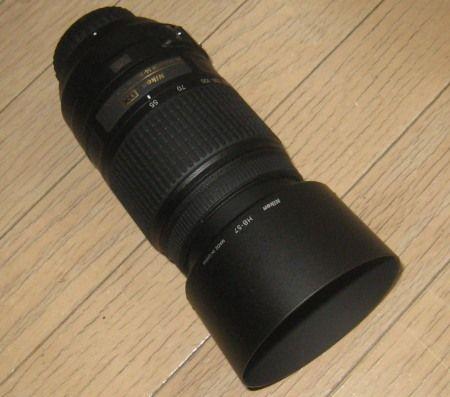 ニコンD3100用の300mmズームレンズ