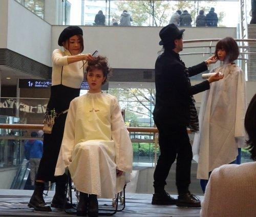 キングダムのヘアーショー 横浜クイーンズスクエア イベントスペース