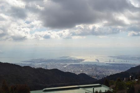 六甲山ホテルからの眺め