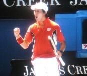 全豪オープンテニス 錦織圭の活躍