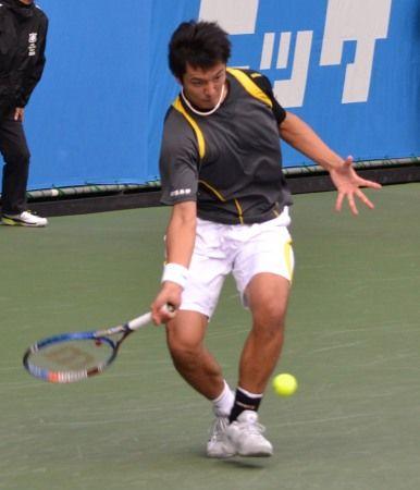 伊藤竜馬 ニッケ全日本テニス選手権準決勝