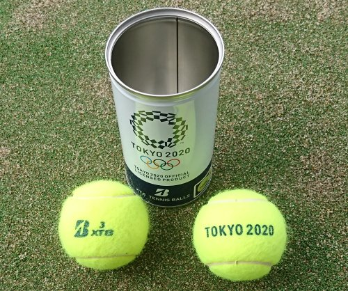 2020年東京オリンピックの公式ライセンスボール ブリヂストンXT8のテニスボールを打ってみました