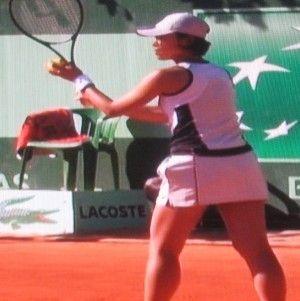 波形純理 全仏オープンテニス