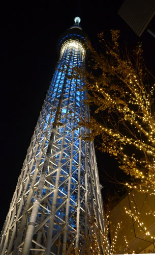 東京スカイツリー(TOKYO SKYTREE)のイルミネーション