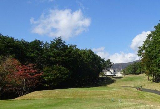 那須ハイランドゴルフクラブで練習ラウンド