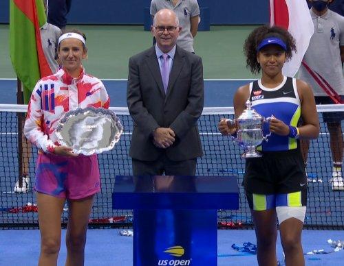 全米オープンテニスのシングルス決勝戦で大坂なおみがビクトリア・アザレンカに勝利し優勝