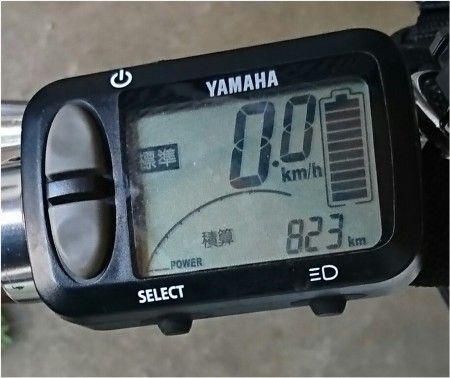 ヤマハのスポーツタイプの電動アシスト自転車 PAS VIENTA5 PA26V 9ヶ月ほどで823KM走行