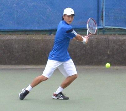 添田豪 慶應チャレンジャー国際テニストーナメント