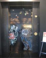 雅叙園百段階段入り口エレベーター