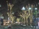 新横浜の電飾