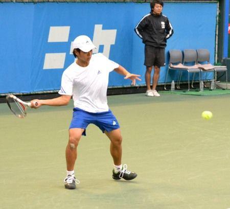 田川翔太 ニッケ全日本テニス選手権準決勝