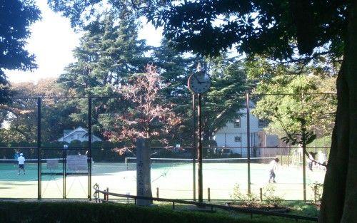 横浜市営 山手公園テニスコート