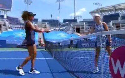 テニスのW&Sオープンのシングルス準決勝で大坂なおみが勝利、決勝へ