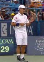 シティ・オープン男子の準々決勝で錦織圭がガスケに敗退