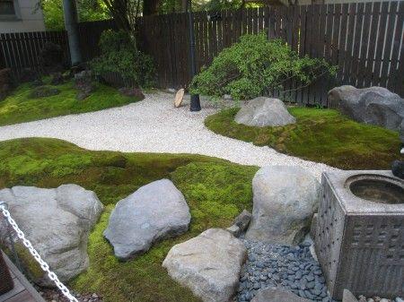 麺茶寮ウィステリア 苔庭園