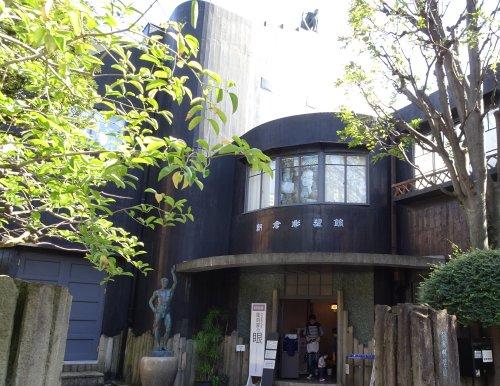 日暮里駅近くの朝倉彫塑美術館 彫塑家朝倉文夫さんのアトリエと住居跡