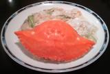 武蔵小山 中国料理楼蘭(樓蘭)渡りガニとユリ根の炒め物