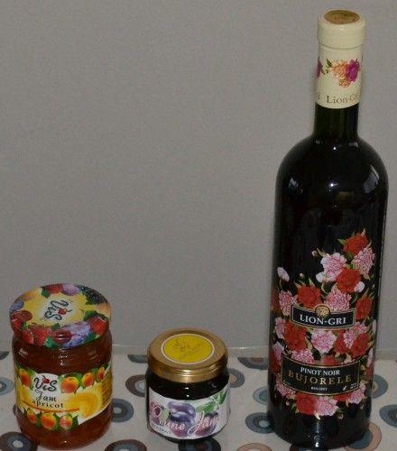 自由が丘のモルドバ物産店 アルビーナ・アンジェラさんのジャムとワイン