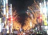 渋谷の電飾