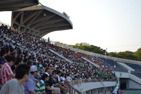 「なでしこリーグ」の日テレ・ベレーザ 対 福岡J・アンクラス